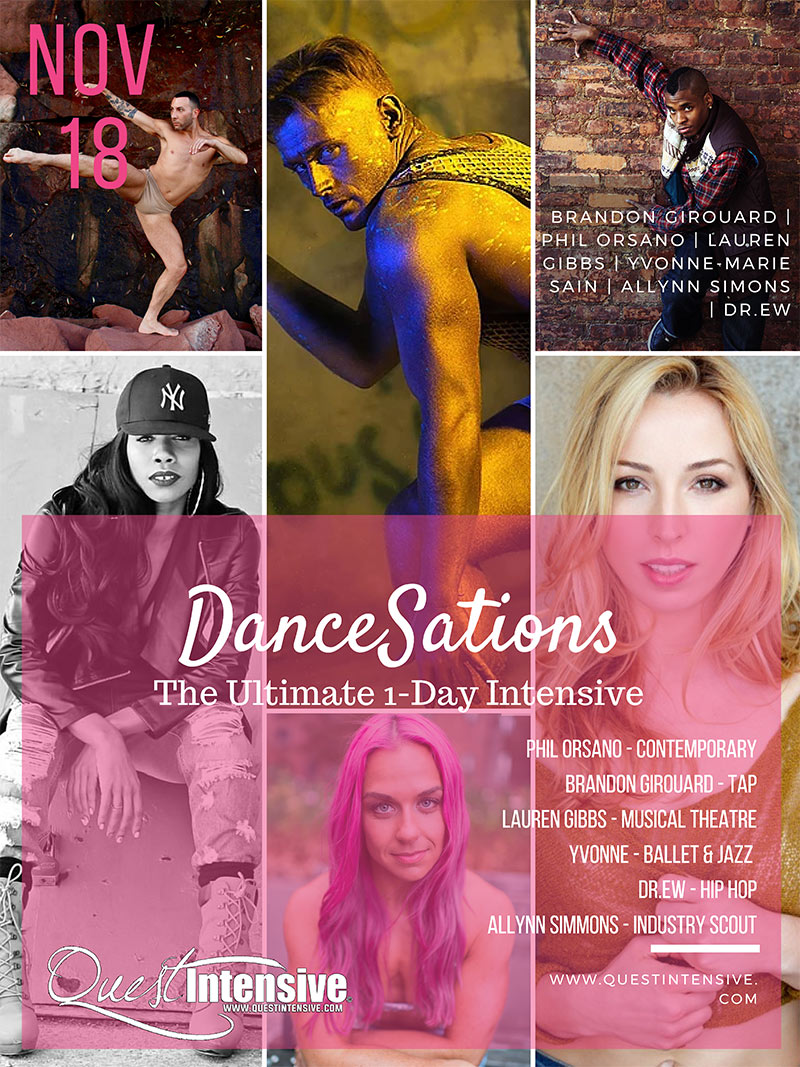 QUEST INTENSIVE with Dancesations